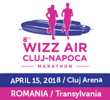8th WIZZ AIR Cluj-Napoca Marathon - April 15, 2018 - Romania / Transylvania