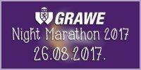 Grawe Night Marathon - Noćni Maraton - Zagreb, 26 August 2017
