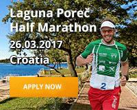 Laguna Poreč Half Marathon - Croatia - 26.03.2017