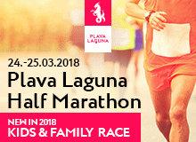 Plava Laguna Half Marathon / Poreč, Croatia / 24-25 March 2018