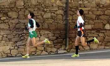 Two top runners in the Montefortiana Tura race (Copyright © 2012 runinternational.eu)