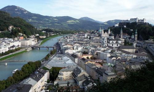 Salzburg, Austria, as seen from Mönchsberg (Copyright © 2015 Hendrik Böttger / runinternational.eu)
