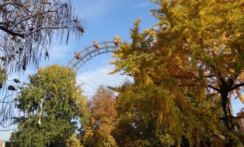 The Riesenrad in the Prater in Vienna, Austria, in November (Copyright © 2015 Anja Zechner / runinternational.eu)