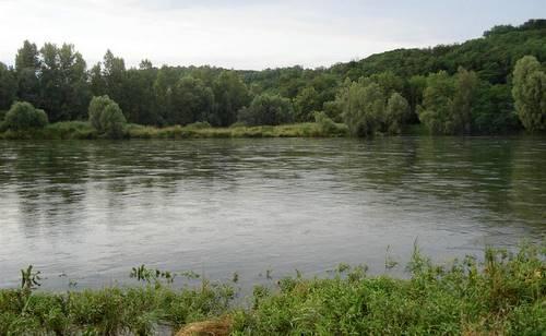The Mura river near Mursko Središče, Croatia (Copyright © 2011 Hendrik Böttger / runinternational.eu)