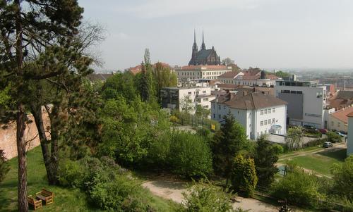 Cathedral of St Peter and Paul in Brno, Czech Republic, as seen from Špilberk Castle (Copyright © 2020 Hendrik Böttger / runinternational.eu)