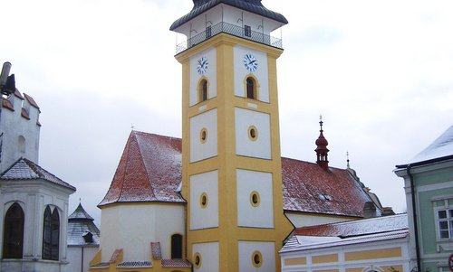 Kostel sv. Jiljí, Moravské Budějovice, Czech Republic (Author: Jan Pešula / commons.wikimedia.org / Public Domain / photo cropped by runinternational.eu)