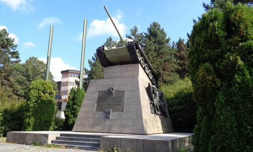 Monument to the liberation of Ostrava, Czechia (Copyright © 2017 Hendrik Böttger / runinternational.eu)