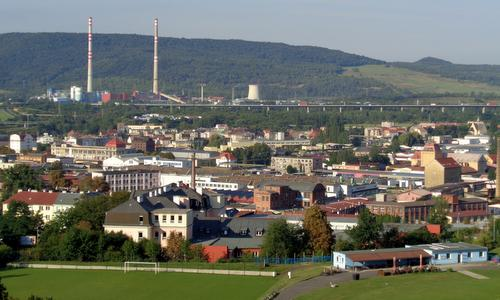 Ústí nad Labem Half Marathon - The race takes the runners through the industrial western part of the city (Photo: Copyright © 2017 Hendrik Böttger / runinternational.eu)