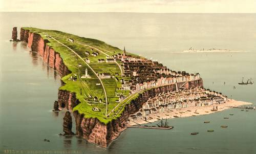 Helgoland, Germany, ca 1890-1900 (Author: unknown / commons.wikimedia.org / Public Domain / image modified by runinternational.eu)