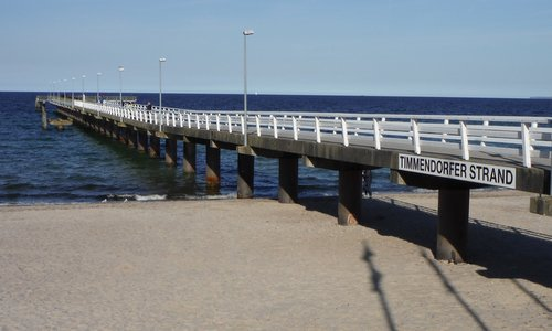 Timmendorfer Strand Germany  City new picture : Seebrücke, Timmendorfer Strand, Germany Copyright © 2014 Hendrik ...
