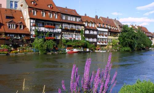 Klein-Venedig ('Little Venice'), Bamberg, Germany - Photo: Johannes Otto Först / Wikimedia Commons / Public Domain)