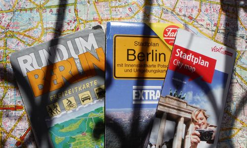 Berlin city maps (Copyright © 2018 Hendrik Böttger / runinternational.eu)