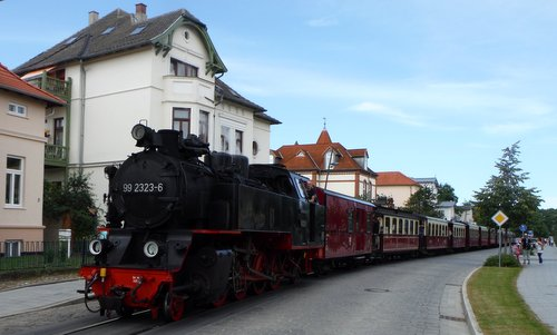 The Molli railway in Bad Doberan, Germany (Copyright © 2016 Hendrik Böttger / runinternational.eu)