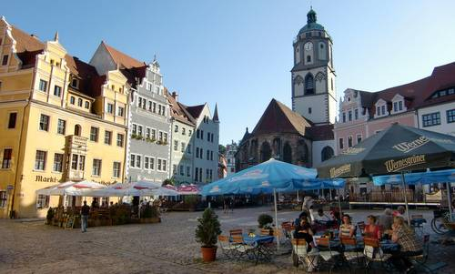 Markt, the main square of the town of Meißen in Germany (Copyright © 2014 Hendrik Böttger / runinternational.eu)
