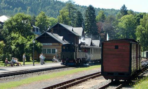 Narrow gauge railway, Zittau-Oybin, Zittau Mountains (Zittauer Gebirge), Germany - Copyright © 2016 Hendrik Böttger / runinternational.eu