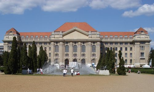 Debrecen's university is in the