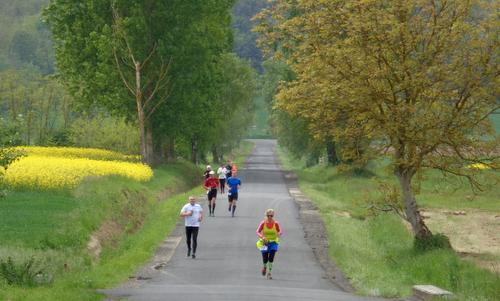 Futás a koraszülöttekért - Run for Preemies, Hungary - Runners near the Zala Spring Golf Resort (Copyright © 2017 Hendrik Böttger / runinternational.eu)