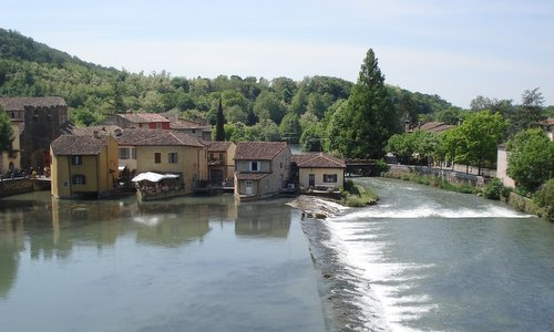 Borghetto on  the River Mincio, Italy (Photo: Copyright © 2010 Hendrik Böttger / runinternational.eu)