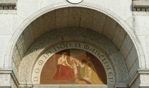 Portal of the church in Paese, near Treviso (Copyright © 2011 Hendrik Böttger)