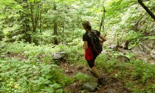 Trail running in northern Italy (Copyright © 2011 runinternational.eu)