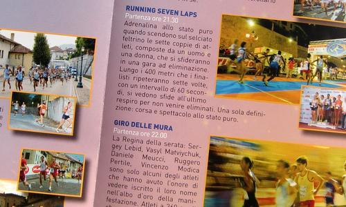 Giro delle Mura, Feltre, Italy - brochure (Copyright © 2012 runinternational.eu)