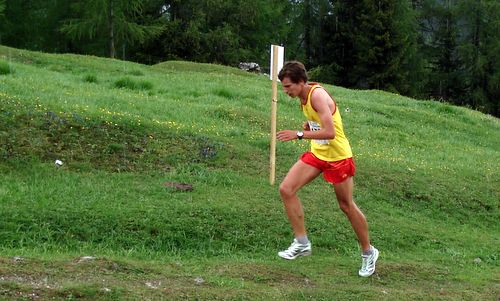 Ricardo Sterni, third place in the Italian Mountain Running Championships 2009 (Copyright © 2012 runinternational.eu)