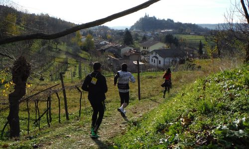 Marcia Corse Pignote - Participants enjoy excellent vistas of the 'Colle di San Martino' in Artegna, Friuli, Italy (Copyright © 2018 Hendrik Böttger / runinternational.eu)
