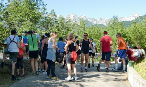 Marcia 'La Panoramica', Lago di Barcis, Italy - drink station (Copyright © 2013 Hendrik Böttger / Run International EU)