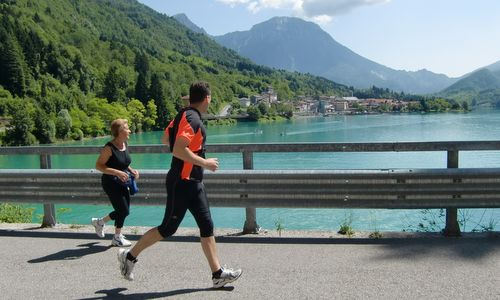 Marcia 'La Panoramica', around Lake Barcis, Italy (Copyright © 2013 Hendrik Böttger / Run International EU)