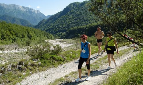 Marcia 'La Panoramica', Barcis, Italy - a 'Marcia non-competitiva' for runners and hikers (Copyright © 2013 Hendrik Böttger / Run International EU)