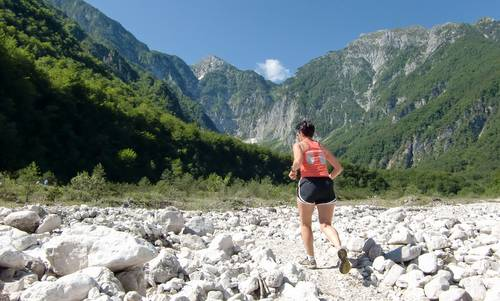Marcia 'La Panoramica', Barcis, Italy - across a river bed (Copyright © 2013 Hendrik Böttger / Run International EU)