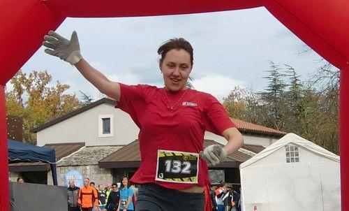 Krystyna Bakhtina, Cronotraversata del Maestro 2013 (Copyright © 2013 Hendrik Böttger / Run International EU)