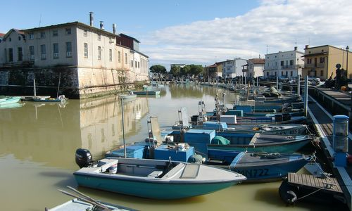 The harbour of Marano Lagunare, Italy (Copyright © 2017 Hendrik Böttger / runinternational.eu)