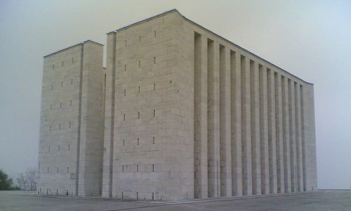 Ara Pacis Mundi Memorial in Medea, Gorizia, Italy (Photo: GiGaX / it.wikipedia / Public Domain)