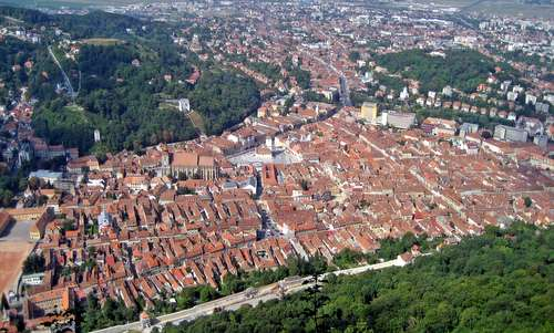 Brasov, Romania (Photo: User: Mediocrity / Wikimedia Commons / Public Domain)