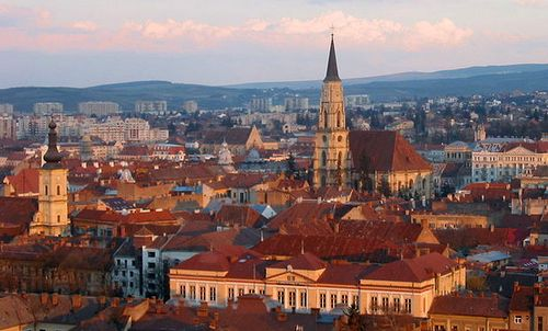 Cluj-Napoca, Romania (Photo: Author: Alexmandru / Romanian Wikipedia / Public Domain)