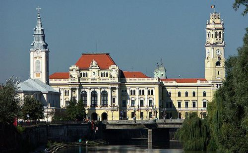 City Hall, Oradea, Romania (Photo: Author Blinder / Wikipedia project / Public Domain)