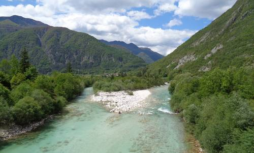 The River Soča near Bovec, Slovenia (Copyright © 2016 Hendrik Böttger / runinternational.eu)