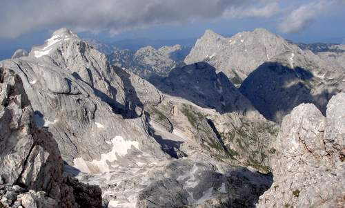 Views from the summit of Grintovec, Slovenia (Copyright © 2012 runinternational.eu)