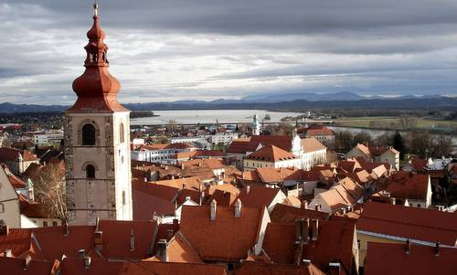 Ptuj, Slovenia - views from castle hill (Copyright © 2009 Hendrik Böttger / runinternational.eu)