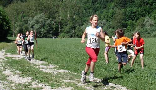 Visovški tek, children's race (Copyright © 2010 runinternational.eu)