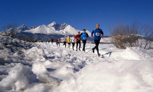 Winter Running Series, High Tatras, Slovakia (Copyright © 2015 Sport Tatry; photo modified by runinternational.eu)